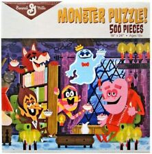 "NEW General Mills 500-Pieces 18"" x 24"" Monster Puzzle! Franken Berry, Count Choc"
