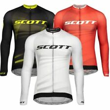 SCOTT Ciclismo Cycling Jersey Men Long Sleeve Shirt Mtb Jersey Bicycle Jersey