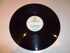 "QUEST Vs THE DIRTY FOURS - Basstrap - 2-track DJ Promo 12"" Vinyl Single"