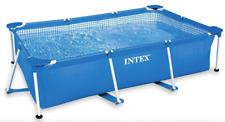 Piscina fuori terra Intex Frame rettangolare 300X200 cm pvc