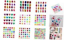 Self-Adhesive Rhinestone Stickers, 18 Sheet Crystal Craft Jewels Gem Stickers fo
