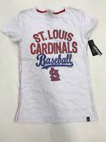 MLB Team Apparel Women's St Louis Cardinals Baseball Sample Small Nice New Rare