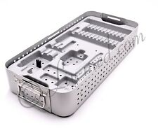 Synthes - Sterilisationsbox mit Einsatz für Instrumente - Endoskopie