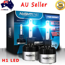 Nighteye H1 LED Headlight Bulbs Replace Lamp White Beam 72W 9000LM/Set AU Stock