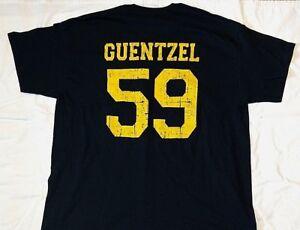 Pittsburgh Penguins Jake Guentzel black & gold distressed t shirt