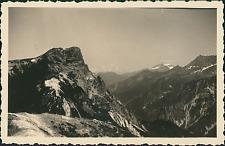 France, Massif du Mont-Blanc, Rocher de Plassas  Vintage silver print Tirage