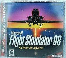 Microsoft Flight Simulator 98 PC Game/CD ROM,Jewel Case BRAND NEW!