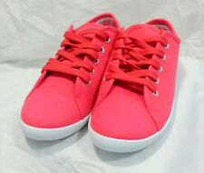 new womens trainers plimsolls. coral. uk 6. new in box. by dek,