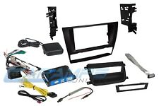NEW DOUBLE 2 DIN CAR STEREO RADIO DASH INSTALLATION TRIM KIT BMW E90 E91 E92 E93