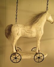 """""""Horse Pull Toy"""" Replacement Sign - 3-D Resin Sign for Country Arrow Holders"""