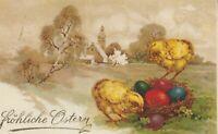 Osterkarte aus dem Jahr 1929 Österreich wertvolle Frankatur