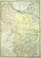 NIEDERSACHSEN - KURFÜRSTENTUM HANNOVER - Le Rouge - Kol. Kupferstich um 1740