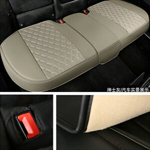 Car Rear Seat Cover Breathable PU Leather Pad Mat Fit for Auto Chair Cushion