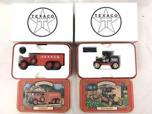 Texaco Collectors Club 1930 Diamond T / 1918 Ford 1:43 scale ERTL Diecast w/Tin