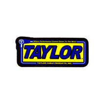 TAYLOR CABLE PRODUCTS NHRA DRAG RACE HOT RAT ROD DECAL VINTAGE LOOK STICKER