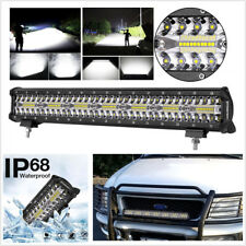 20 Inch 420W 140 LED Off-road Work Light Bar Spot Flood Combo Driving Fog Light