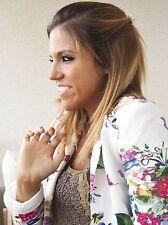 Zara Button Coats & Jackets Floral Blazer for Women