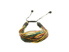 Bracelet rasta Jamaique Bob Marley  fil tresse ajustable  841