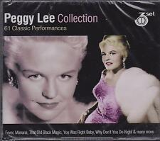 PEGGY LEE - COLLECTION on 3 CD's - NEW -