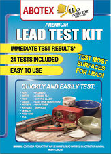 LEAD INSPECTOR LEAD TEST KIT ck Paint, Toys, Ceramics, Soil, .... 24 Pack Abotex