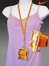 NIKE Sunsport Lanyard and ARMBAND Wallet Cases Yellow  will fit ipod NANO