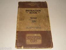 Mode D 'em Ploi Manuel 'em Instruction Livre Standard Voiture Neuf 9, 1935