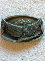 LANDING EAGLE BELT BUCKLE BUCKLES OF AMERICA MASTERPIECE COLLECTION BA-139