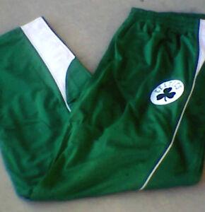 Boston CELTICS Green Basketball Warm Up Pants NWT Tall 3XL 4XL 3XLT NEW