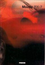 Mazda RX-7 1992-95 UK Market Sales Brochure