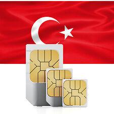 Türkei SIM + 1500 MB für 30 Tage