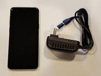MINT Samsung Galaxy S9 SM-G960U - 64GB - Midnight Black (AT&T) (Unlocked) (GSM)