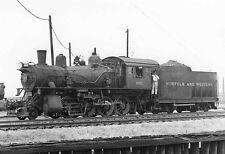 QQ516 RP 19?50s  N&W RR NORFOLK & WESTERN RAILROAD ENGINE #882