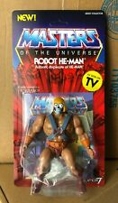Robot He-Man 5.5-inch MOSC Masters of the Universe Filmation MotU Super7