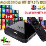 H96 MINI H8 Android 9.0 OS 2.4/5G WIFI BT TV BOX Quad Core HDMI USB 4K 3D Movies