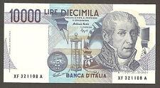 RARA 10.000 lire VOLTA serie speciale sostitutiva XF FDS ASS 10000 UNC