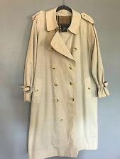 BURBERRY Classic TRENCH Coat Vintage Mid Length Men's 40 S