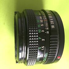 Vintage canon 50mm f/1.8 Manual Focus Lens