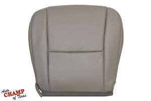 For 05-07 Toyota Sequoia - Driver Side Bottom Replacement Leather Seat Cover Tan