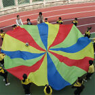16ft Kids Play Rainbow Parachute Outdoor Game Development Exercise T