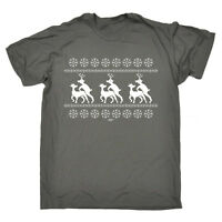 Funny T Shirt - Reindeer Humping - Birthday Joke Humour tee Gift Novelty T-SHIRT