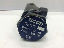 ECONOSTO Pressure relief valve  1/2 in , P.Max. 42 bar, T.Max 200 deg C