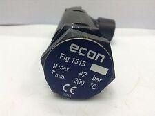 "Fig. 1515  ECONOSTO  Pressure Relief Valve 1/2"" Range 5-10 bar"
