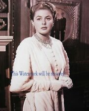 Celebrity  Movie Star 8X10 GLOSSY PHOTO PICTURE IMAGE ib42 Ingrid Bergman
