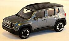 Jeep Renegade Mini SUV 2014-18 grau grey metallic 1:43 Bburago