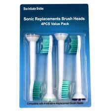 4PCS Toothbrush Brush Heads for Philips Sonicare ProResults HX6231 HX6250 HX6252