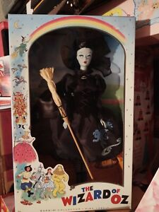 2010 The Wizard of Oz Vintage Face Wicked Witch of the West Barbie Doll!!