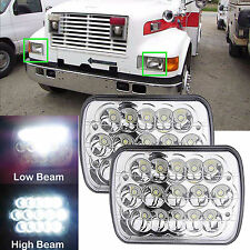 "7x6"" CREE LED Truck Headlight 2X For International Harvester 4700 4800 4900 8100"