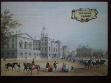 POSTCARD LONDON THE HORSE GUARDS - LINEN FINISH