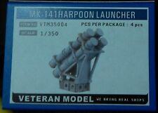 Veteran 1/350 MK-141HARPOON LAUNCHER resin upgrade