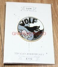 EXO 5TH Anniversary DDP STARDIUM SMTOWN SUM OFFICIAL GOODS WOLF PIN BADGE NEW